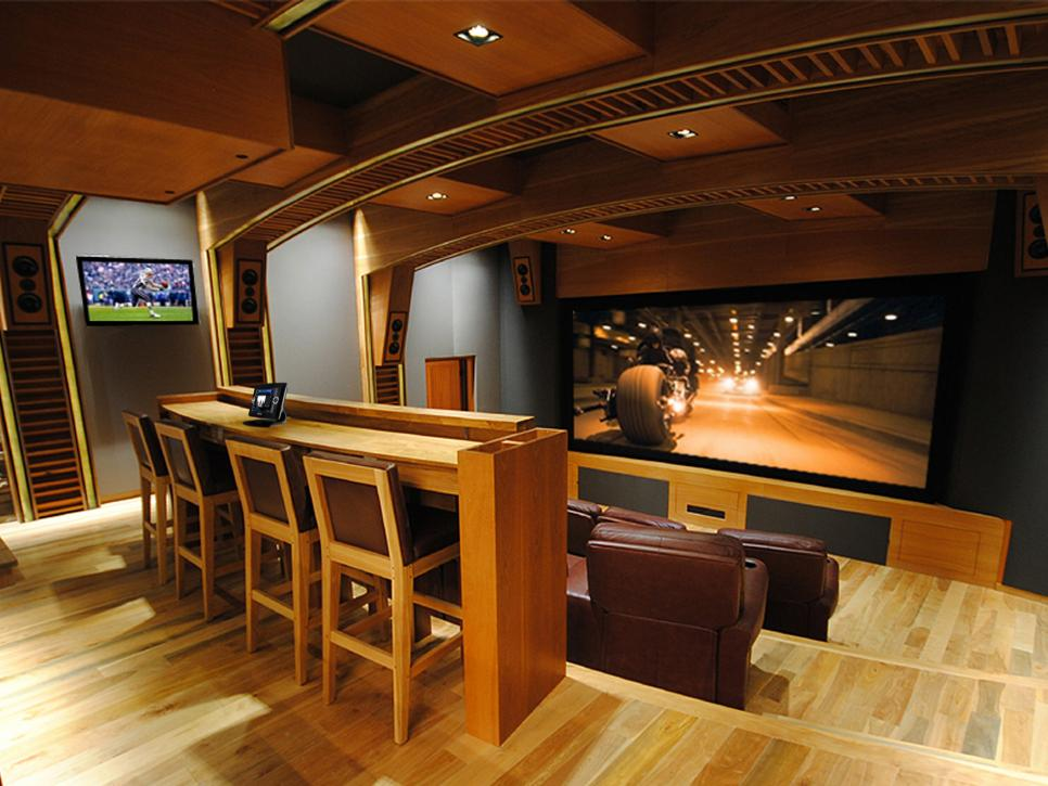 Cedia 2012 home theater finalist wall to wall performance hgtv - Home cinema design ideas ...