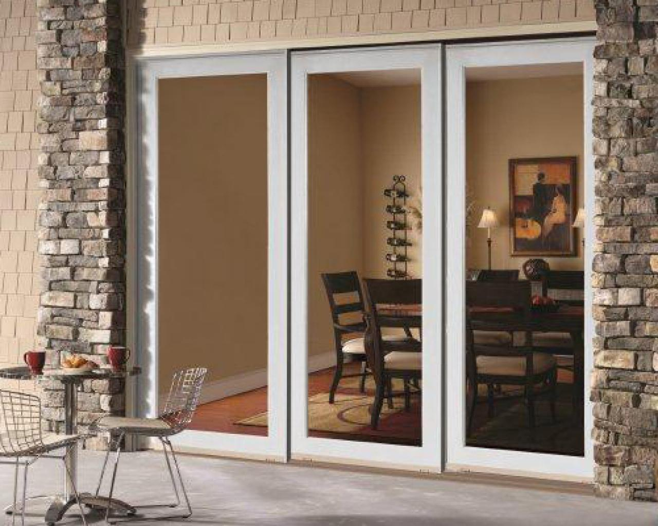 How to choose a back door hgtv for Back door sliding door