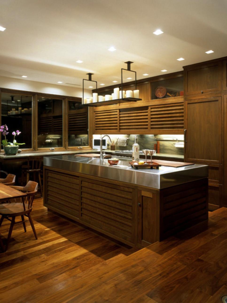 Bye Bye Boring Brown Kitchens Hgtv