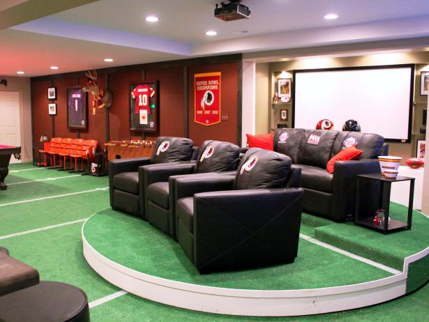 basement ideas & designs with pictures | hgtv