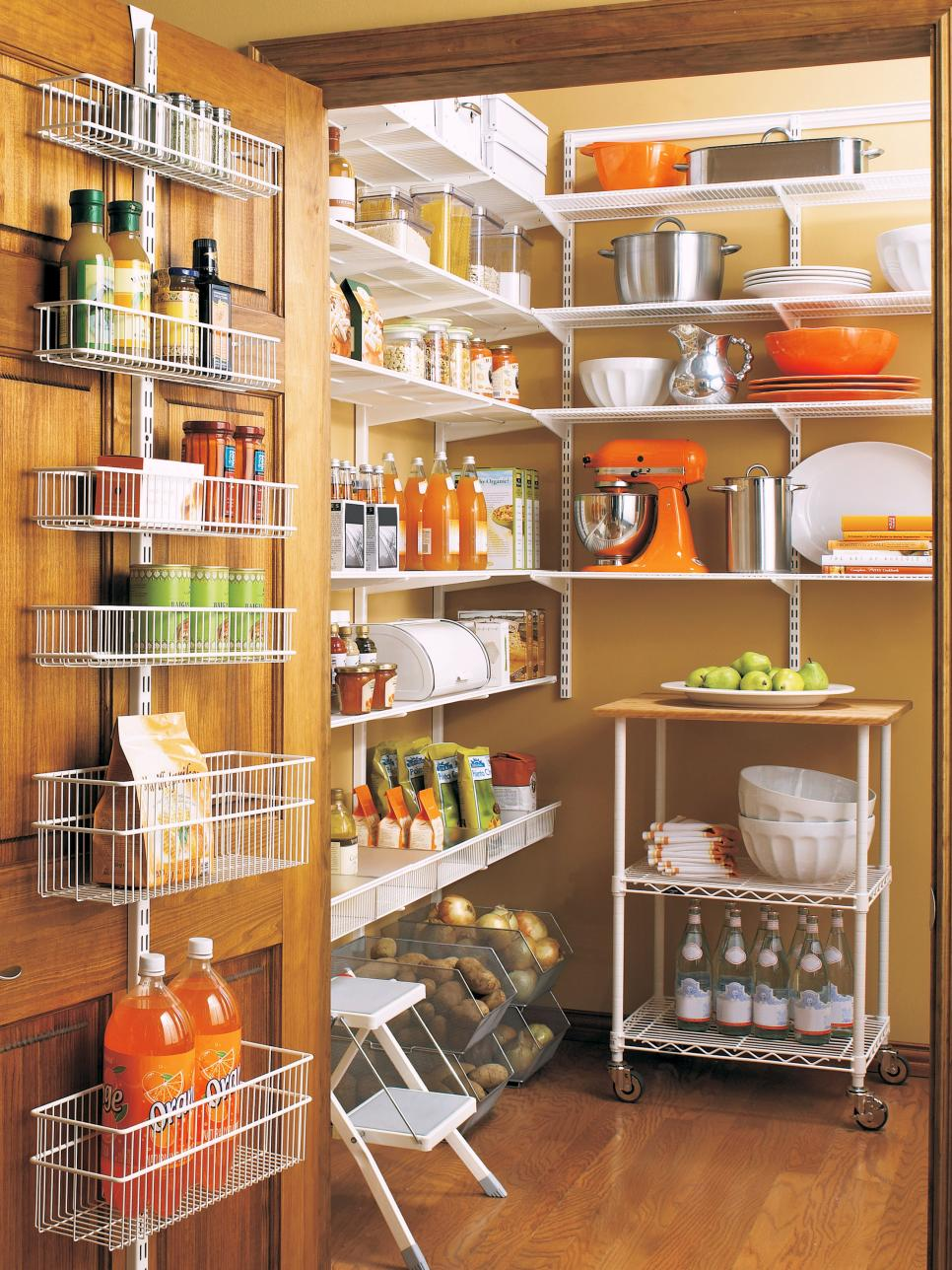 Easy Kitchen Storage 20 Best Pantry Organizers Hgtv