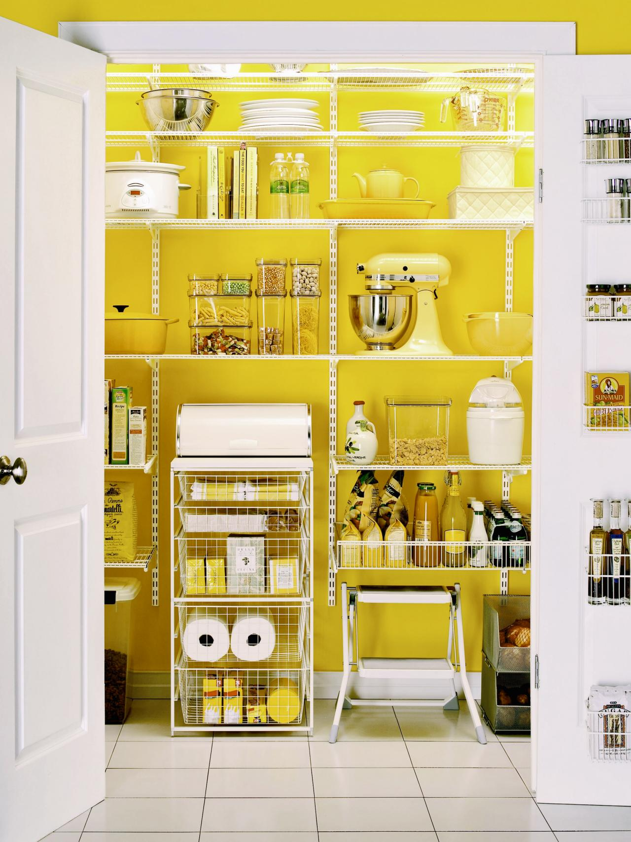 Pictures of kitchen pantry options and ideas for efficient for Kitchen closet