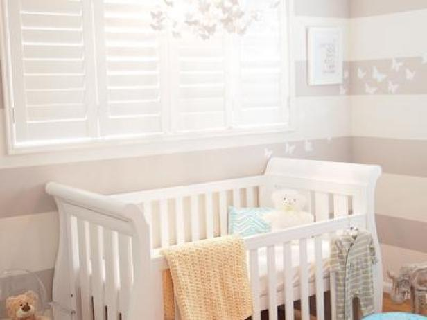 Baby room ideas nursery themes and decor hgtv for Baby s room decoration ideas