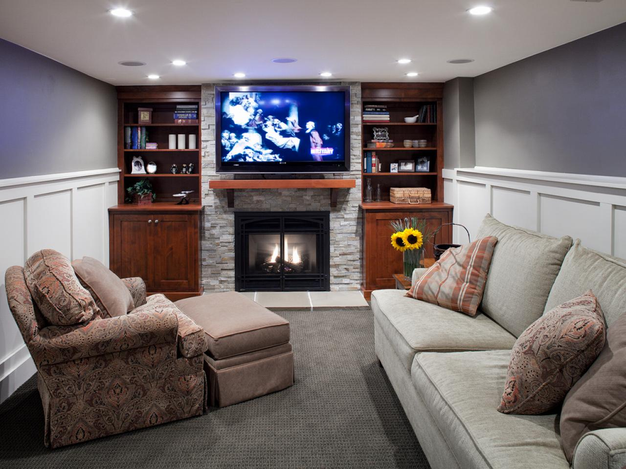 Heating your basement hgtv Heating options for small homes