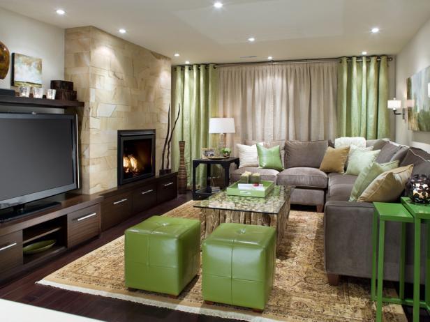 basement living area - Basement Interior Design