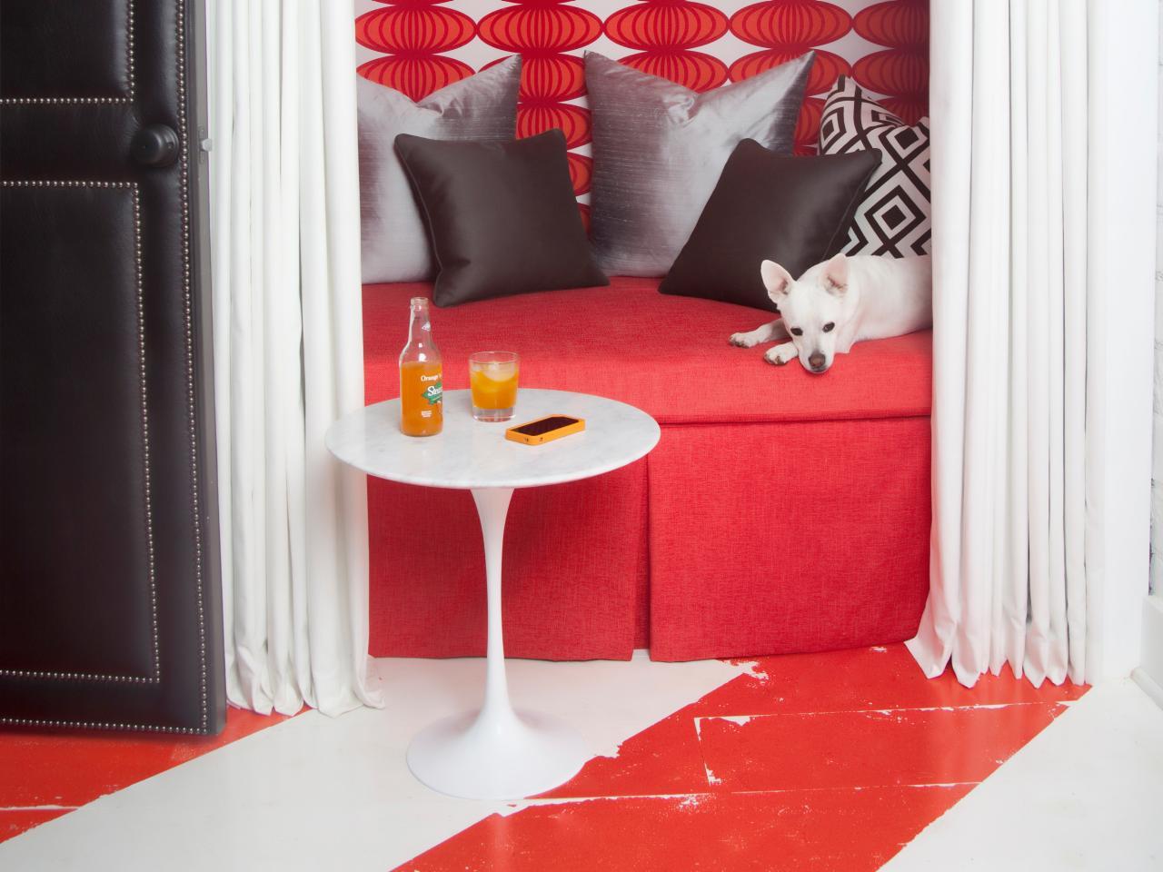 Basement floor paint options hgtv for Basement floor paint