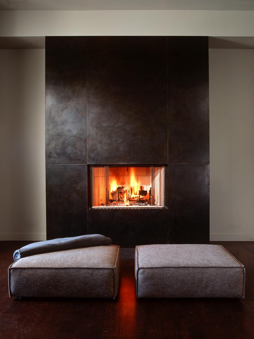 17 hot fireplace designs hgtv