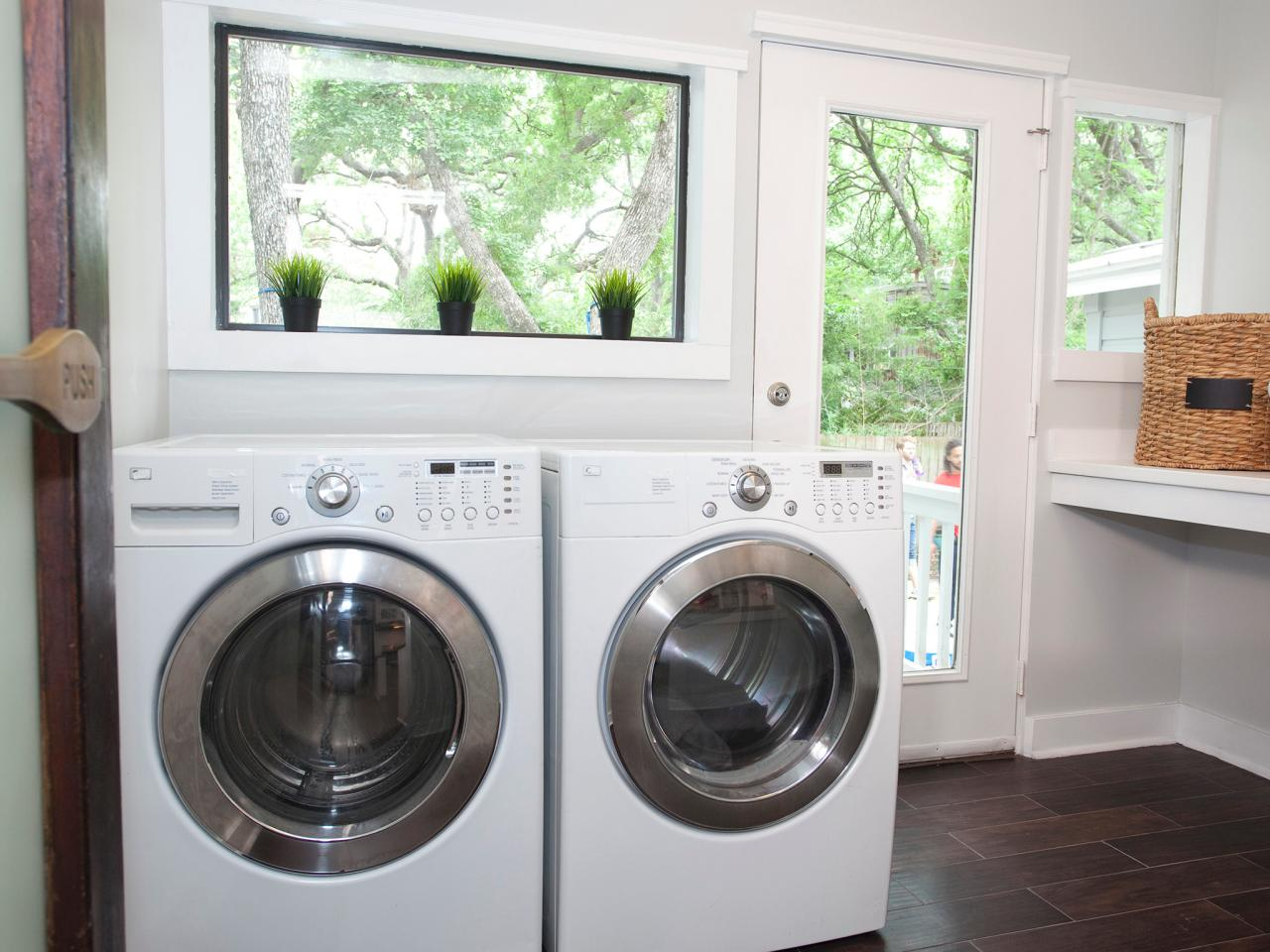 Laundry Room Layouts Pictures Options Tips Ideas HGTV - Bathroom laundry room design ideas