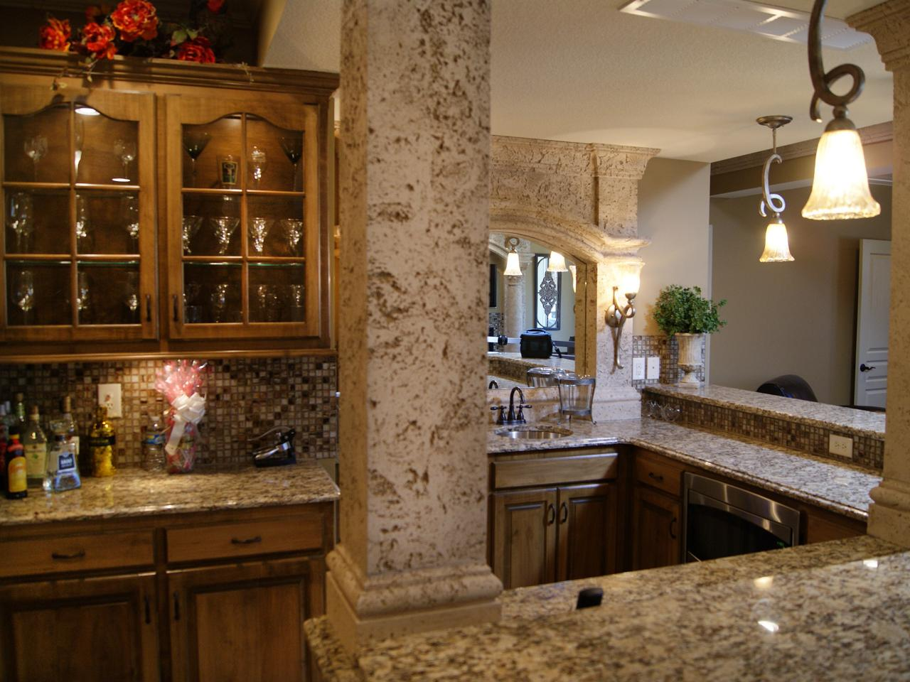 Basement Kitchen Bar Basement Bar Ideas And Designs Pictures Options Tips Hgtv