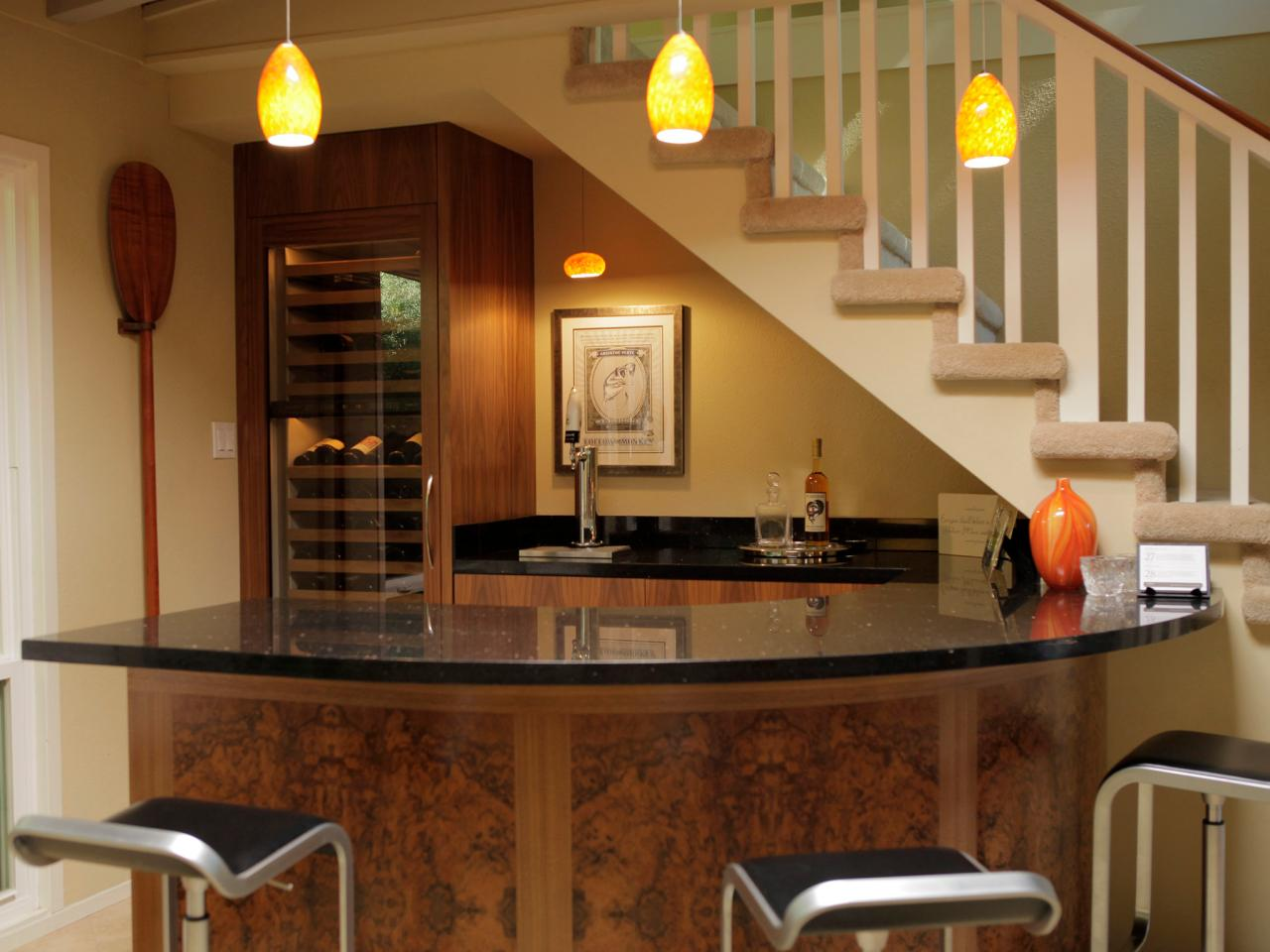 bars designs for home.  Basement Bar Ideas and Designs Pictures Options Tips HGTV