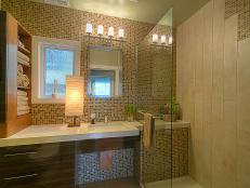 bathroom tile designs, ideas & pictures | hgtv