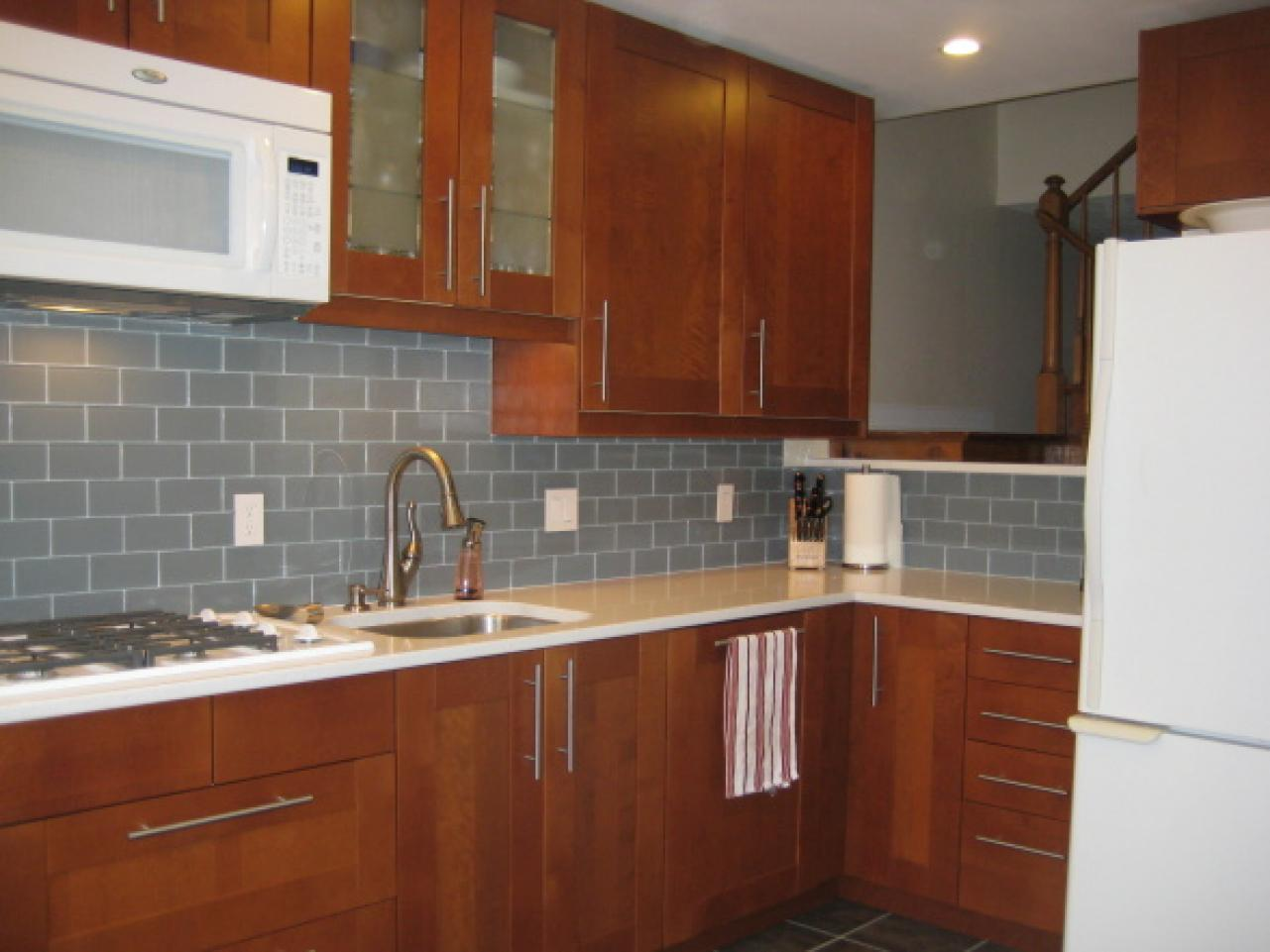 Kitchen Countertop Options Diy : do it yourself kitchen remodel wide view of kitchen with tiled ...