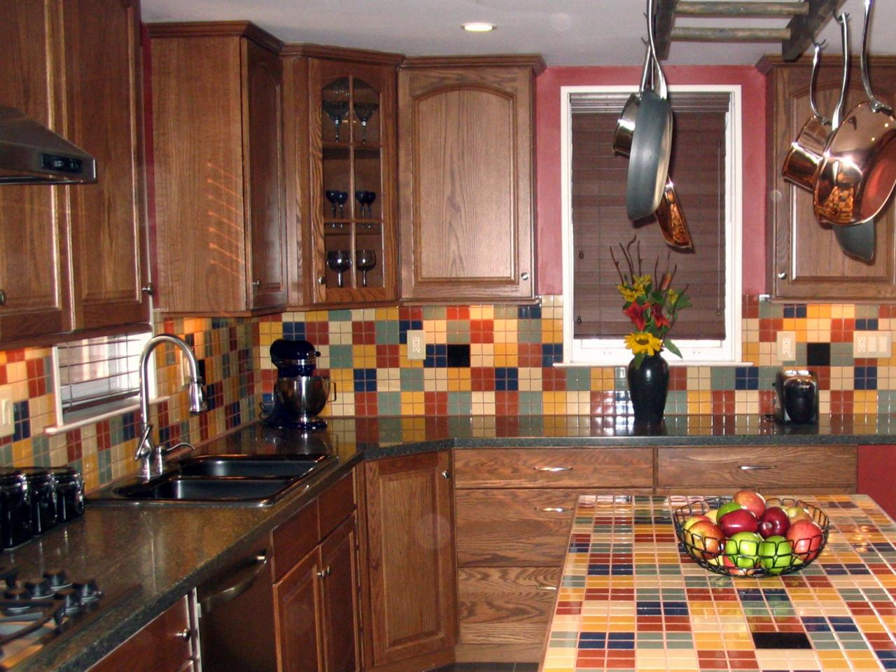 Kitchen backsplash tile ideas hgtv for Kitchen tiles pictures