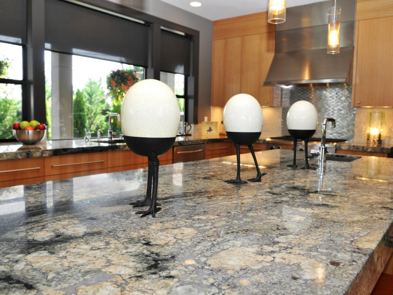 Granite kitchen islands hgtv - Granite kitchen design ...