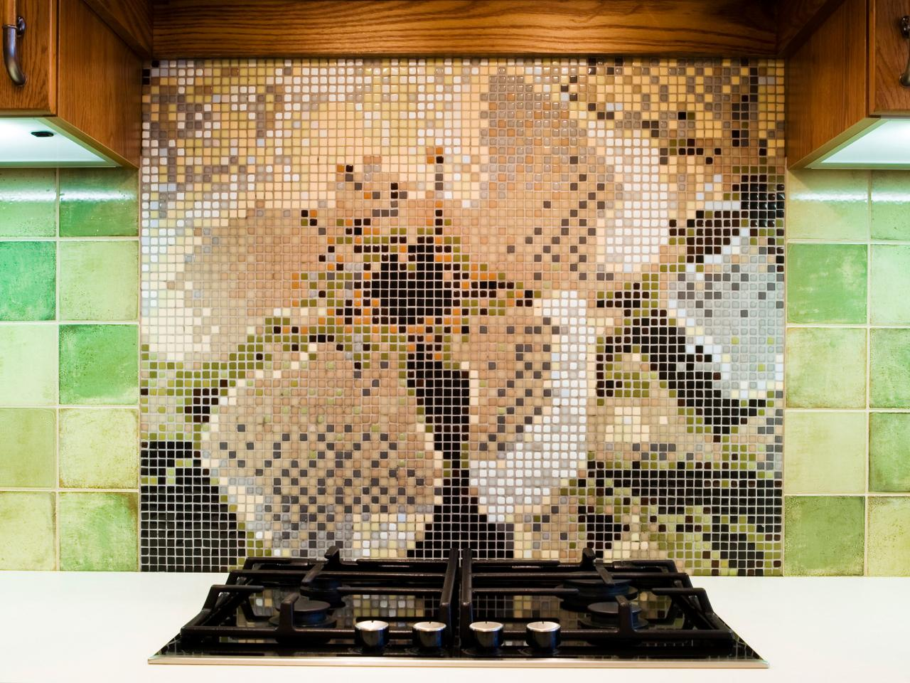 Mosaic Tile Backsplash - Mosaic Tile Backsplash HGTV