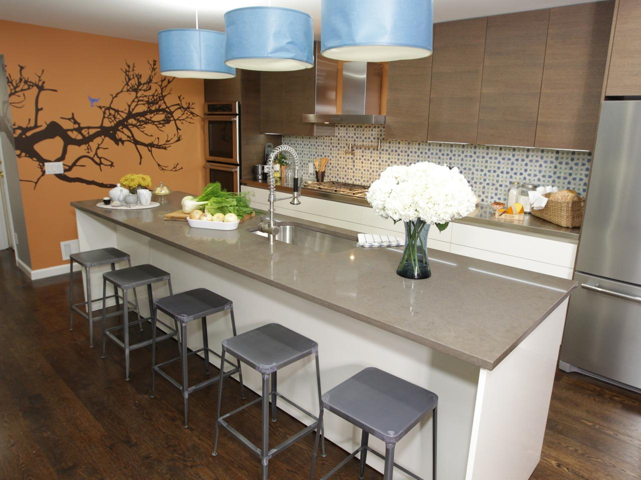 kitchen island breakfast bar pictures amp ideas from hgtv kitchen kitchen island with breakfast bar open kitchen