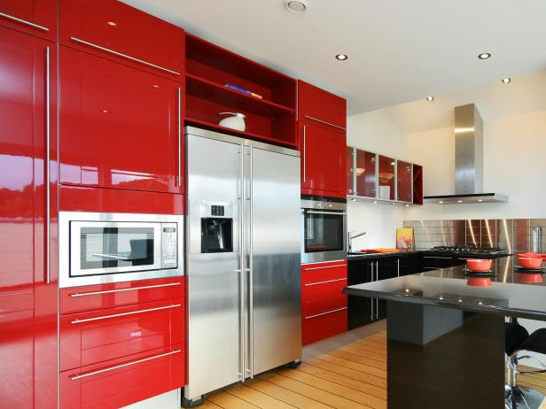 Kitchen Cabinet Colors kitchen cabinet colors and finishes: pictures, options, tips