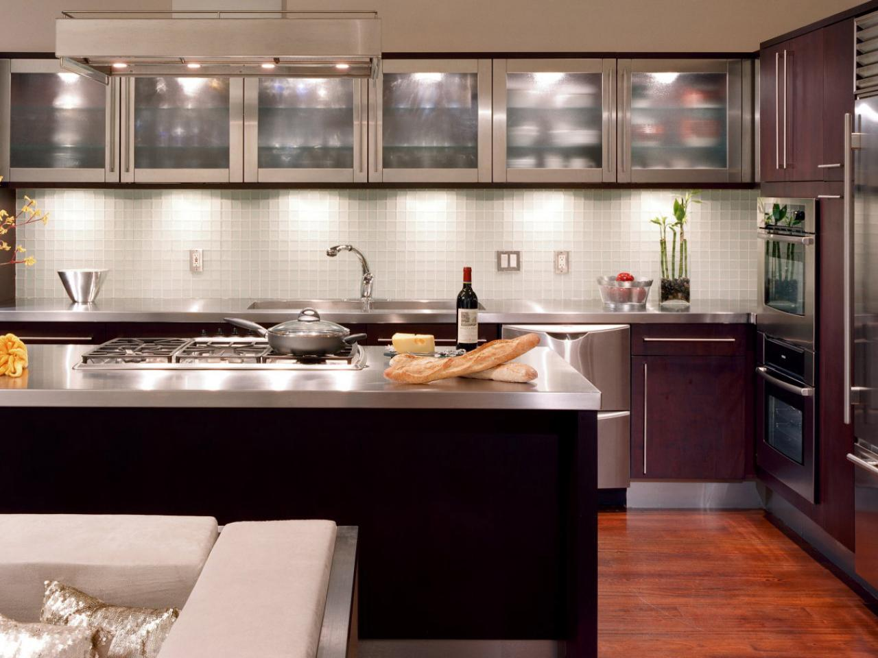 glass kitchen cabinet doors: pictures, options, tips & ideas | hgtv