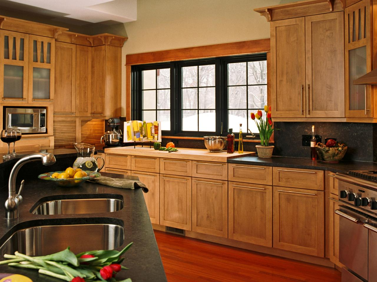 Kitchen cabinet styles pictures options tips ideas hgtv for Kitchen styles pictures