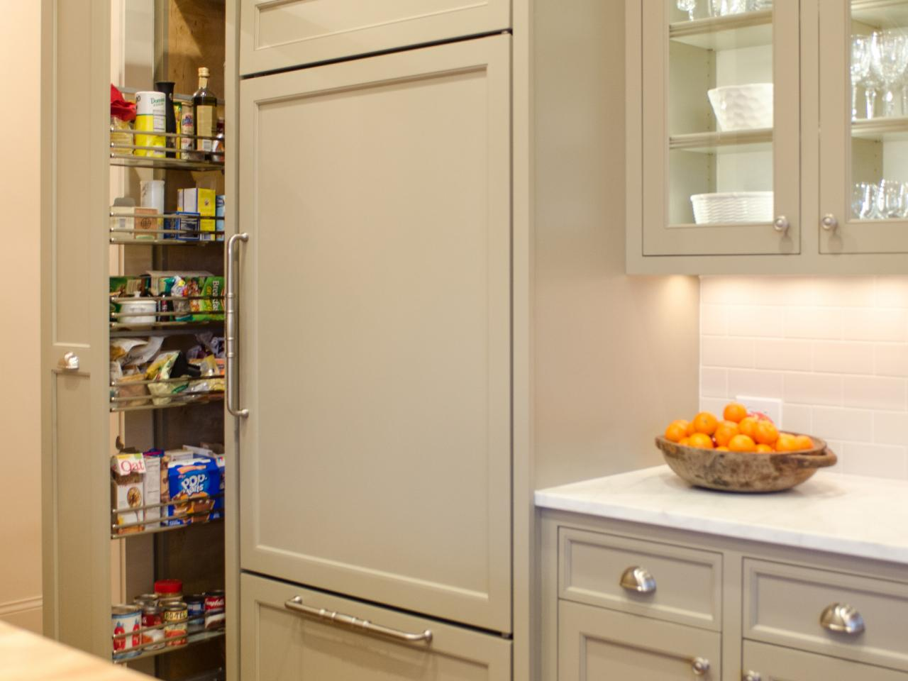 ravishing kitchen pantry design with plans free design gallery | Pantry Cabinet Plans: Pictures, Options, Tips & Ideas | HGTV