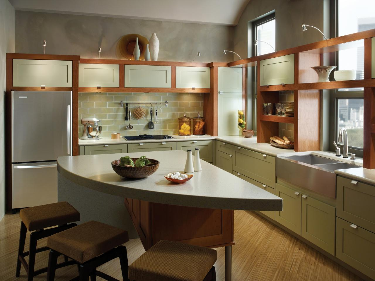 Maximize small space storage hgtv Kitchen storage cabinets for small spaces