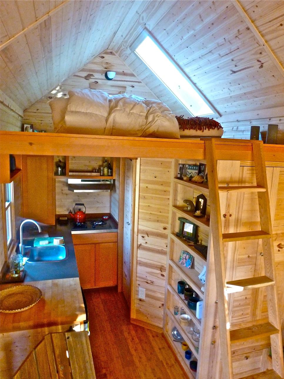 tuck it away - Tiny House Inside