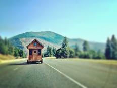 Portable House on the Road