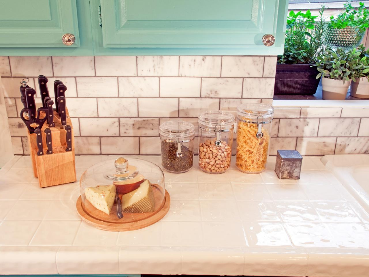 tile kitchen countertops: pictures & ideas from hgtv | hgtv