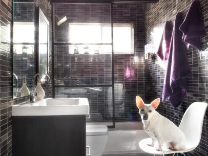 Modern makeovers for small bathrooms
