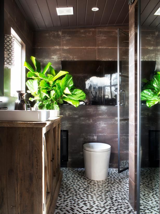 Rustic Master Bath Makeover Hgtv
