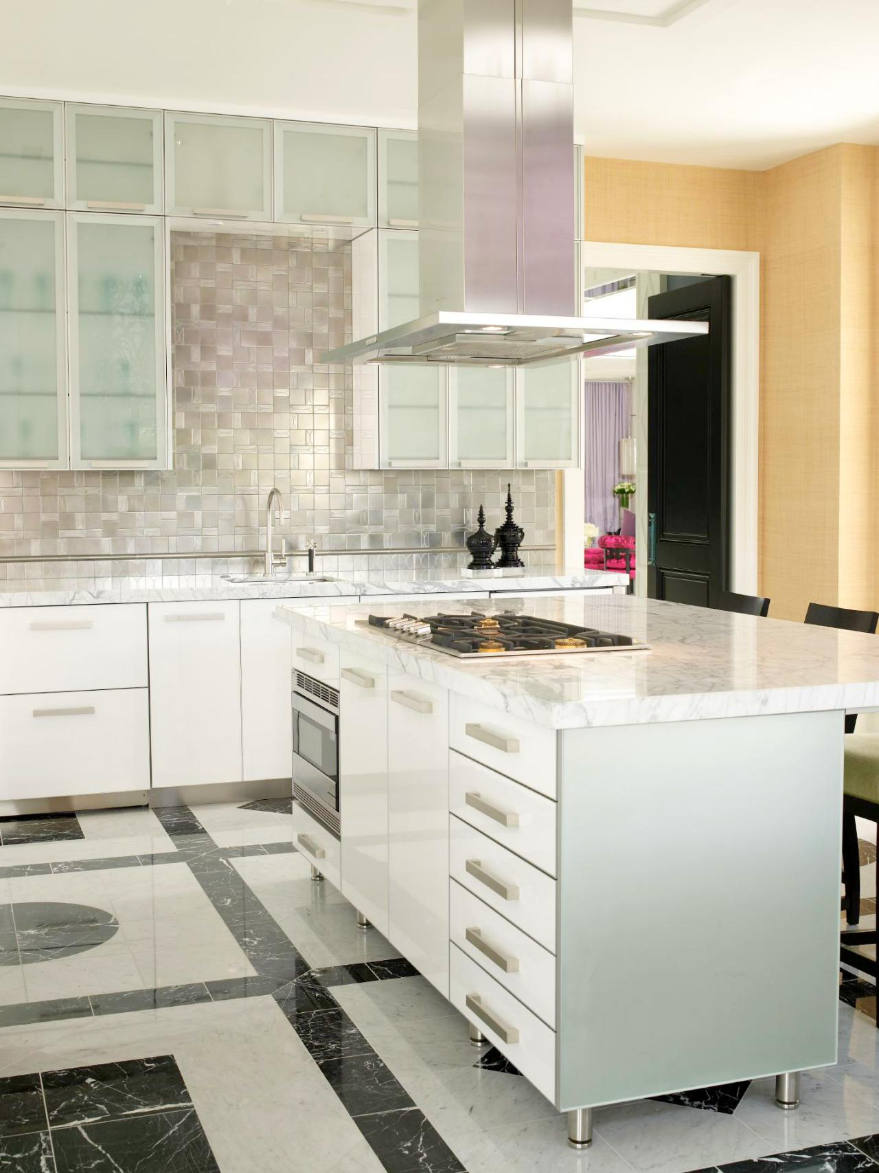 Kitchen Marble Floor Marble Kitchen Countertops Pictures Ideas From Hgtv Hgtv