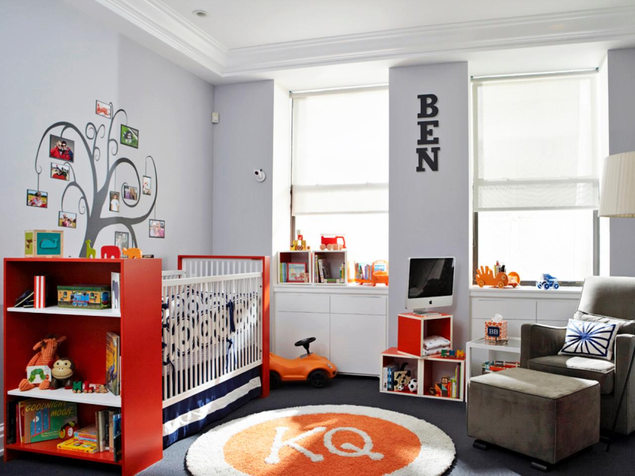 Color Schemes for Kids' Rooms