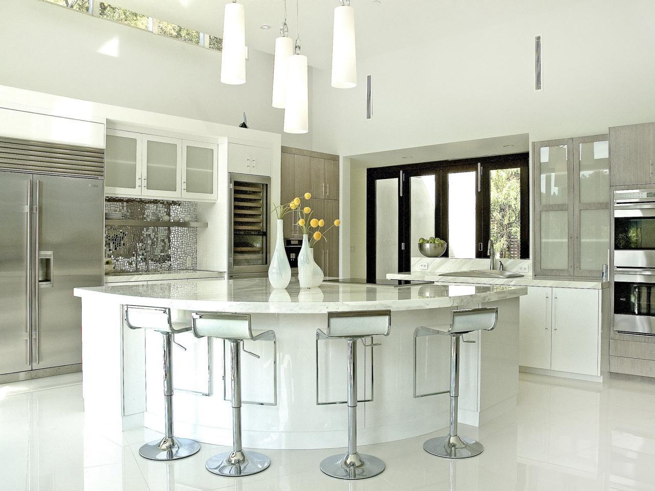 granite kitchen countertops: pictures & ideas from hgtv | hgtv