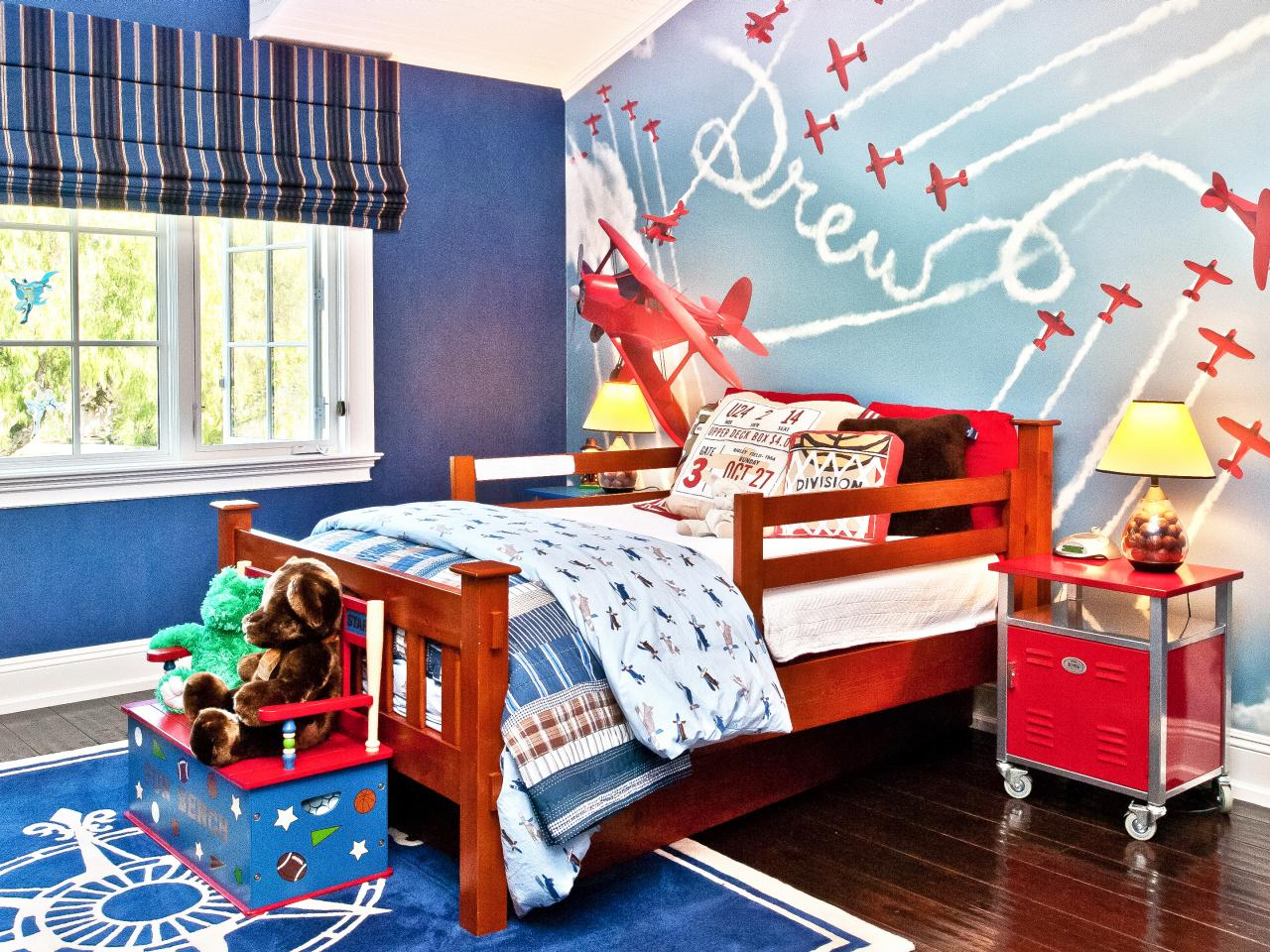 Child Bedroom Interior Design choosing a kid's room theme | hgtv