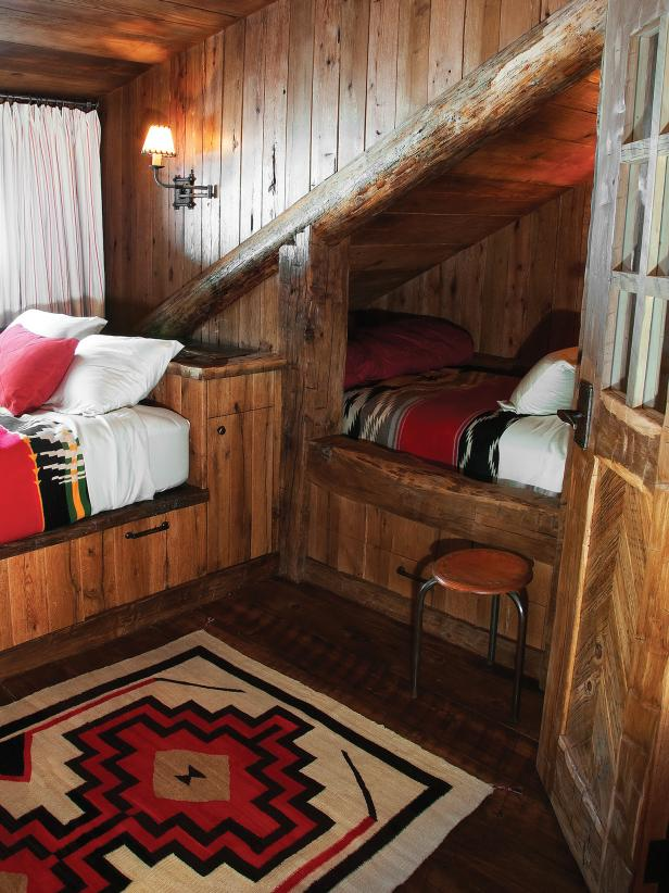 Kids Room Designs For Small Spaces: Editor's Pick: 15 Cozy Cabin Designs