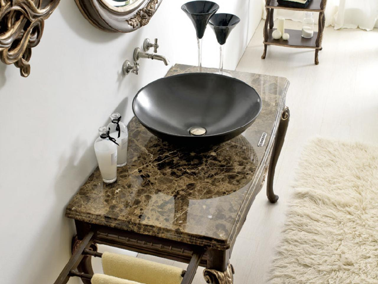 Bathroom Vanity Table bathroom vanity tables and furniture | hgtv