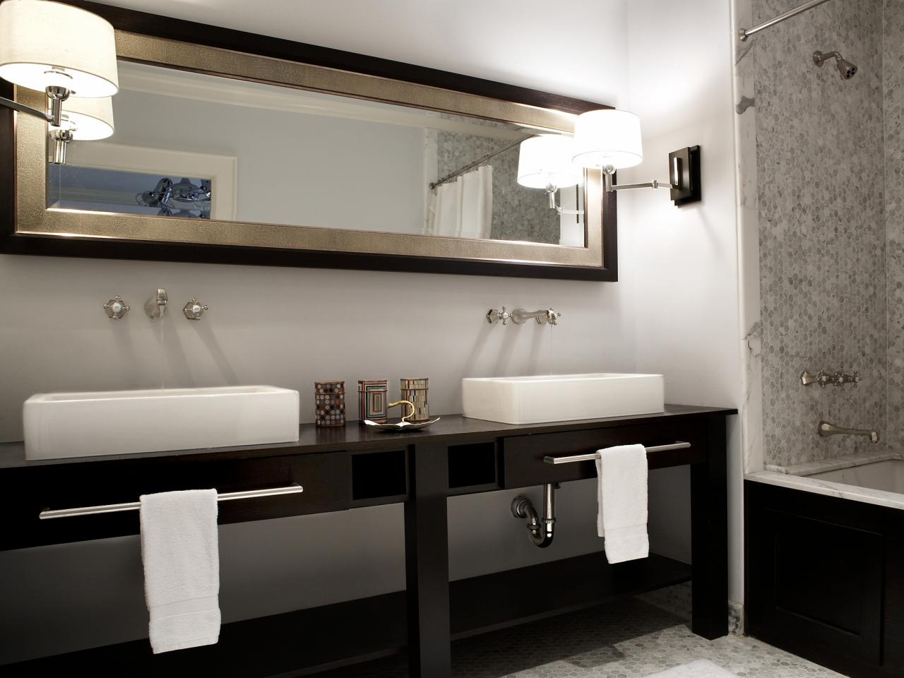 Vanity Designs Magnificent Double Vanities For Bathrooms  Hgtv Design Decoration