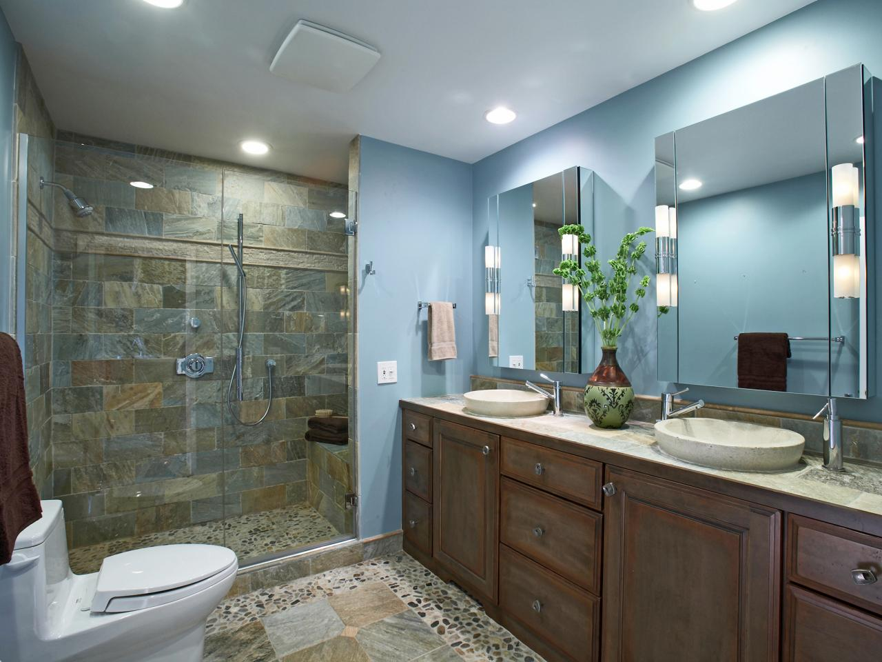 Bathroom shower designs bathroom design choose floor for Bathroom lighting design