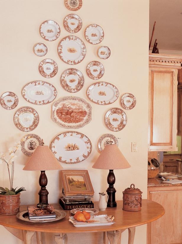 plates wall decoration