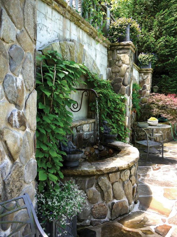 McCaull Garden Fountain