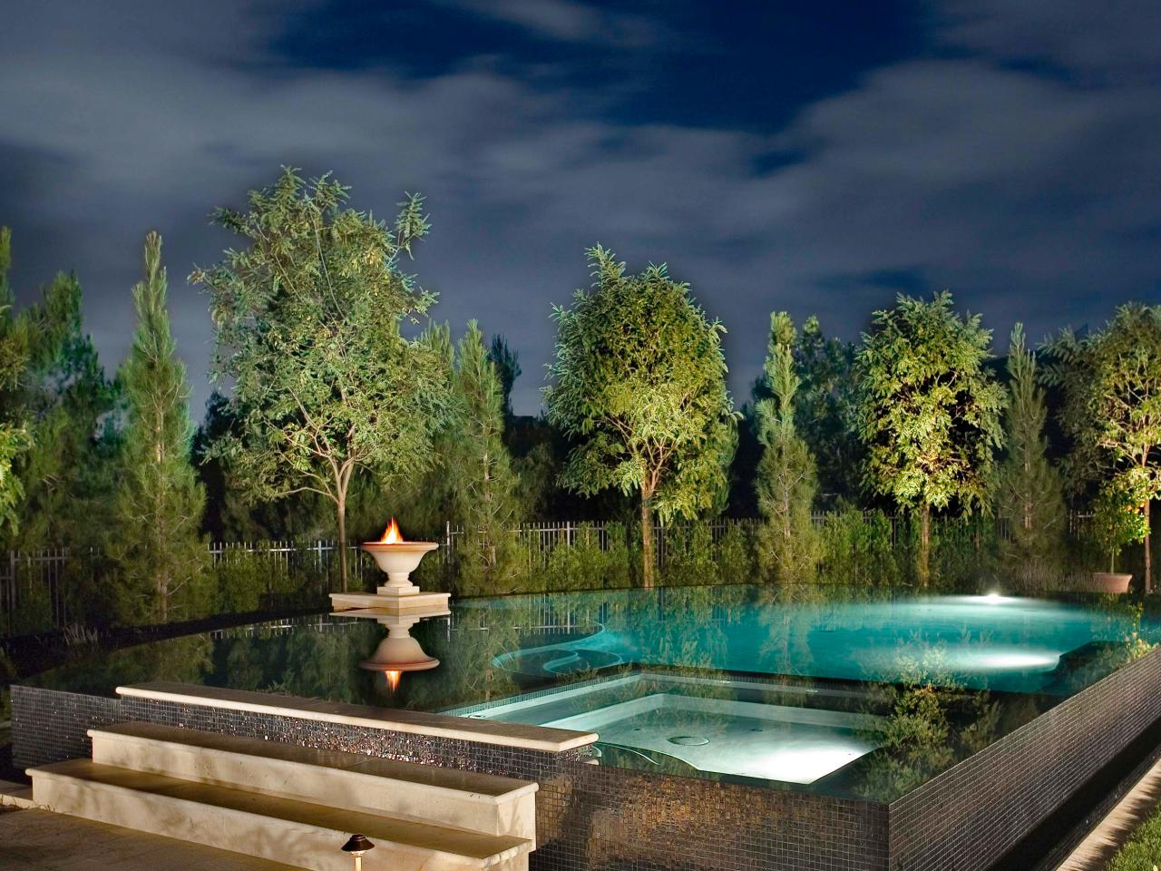 Pool Lighting Tips Hgtv