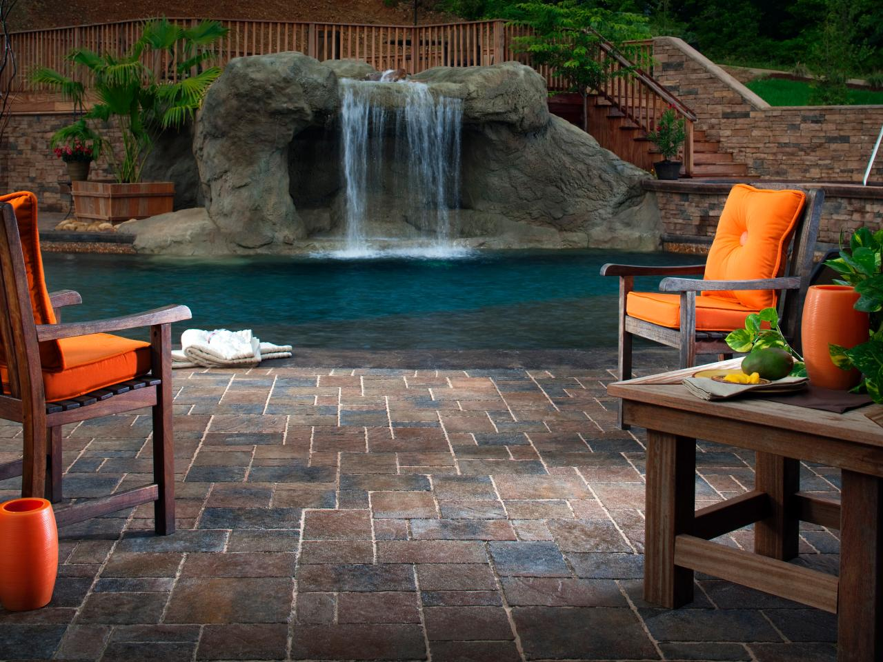 tips for designing a pool deck or patio | hgtv - Deck Patio Designs
