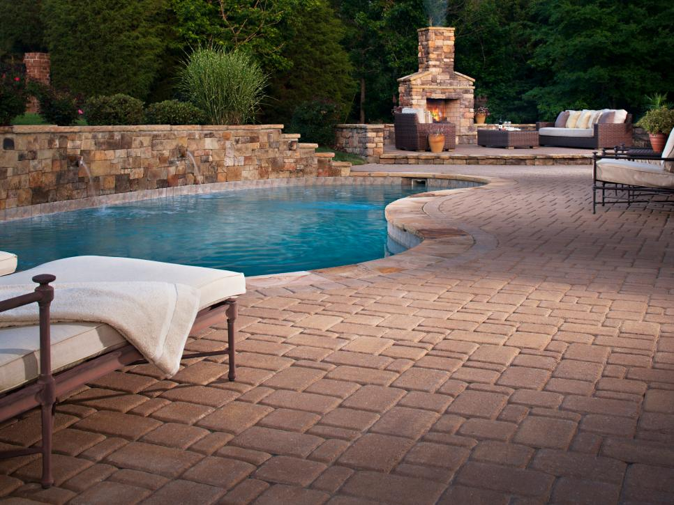 Dreamy pool design ideas hgtv for Poolside ideas