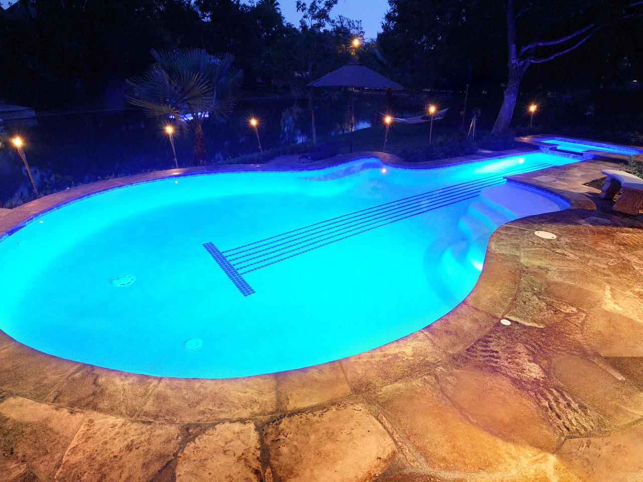Pool Lighting Tips Hgtv