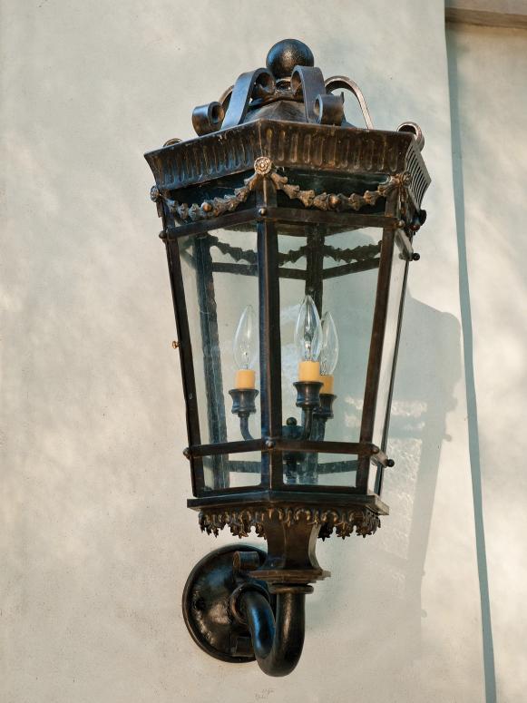 Hand Forged Lantern