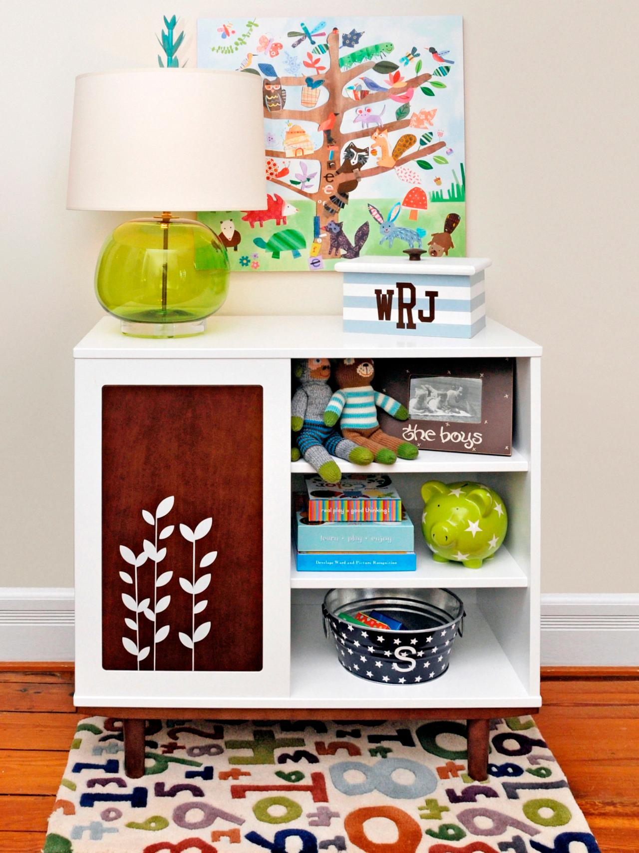 Smart storage for kids 39 rooms hgtv for Storage for kids rooms