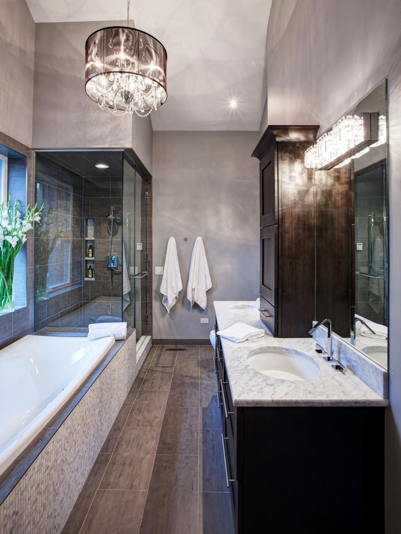 bathroom decorating tips & ideas + pictures from hgtv | hgtv