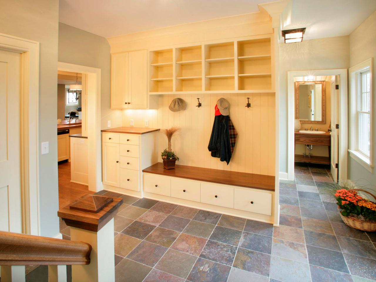 Mudrooms Inside Vs Outside Hgtv