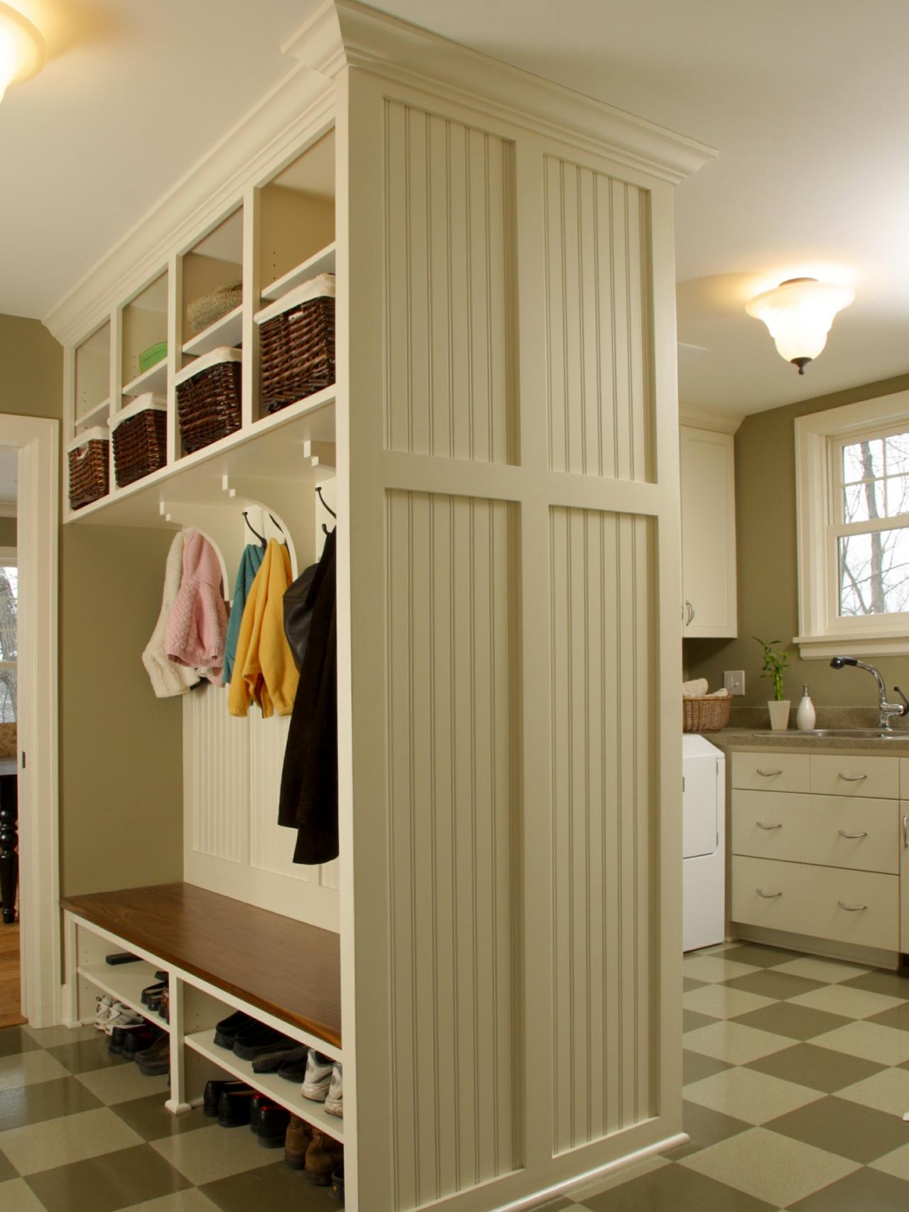 Mudroom Organization System