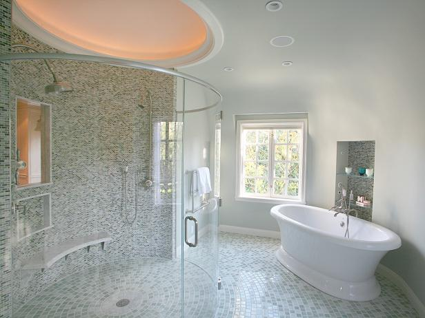 Transitional bathrooms hgtv Transitional contemporary